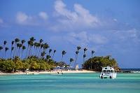ドミニカ共和国 サマナ バカルディ島