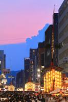 京都府 祇園祭 前祭の宵山