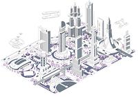 ブロックタウン未来都市 B-1-2-4-5-7-8