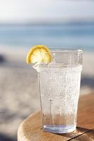 レモンソーダ水