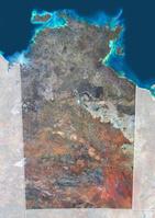 ノーザン・テリトリー衛星画像