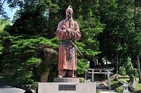 岡山県 和気清麻呂の像