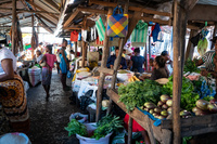 マダガスカル モルンダバ のマーケット