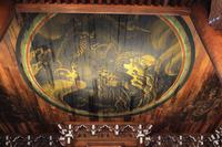 京都府 南禅寺 法堂の天井に描かれた蟠龍図