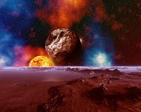 灼熱惑星と宇宙