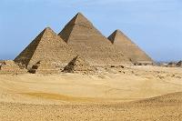 エジプト カイロ ギザのピラミッド