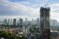 インドネシア ジャカルタ 街並み