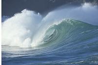 ハワイの大波