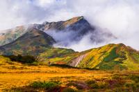 富山県 立山室堂平から大日岳