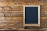 壁に置かれた黒板