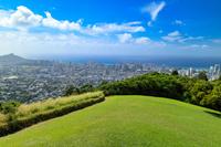 ハワイ オアフ島 タンタラスの丘