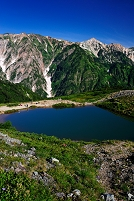 長野県 白馬村 八方尾根・八方池と白馬岳