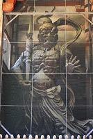 奈良県 東大寺 南大門の金剛力士像(阿形像)