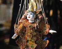 カンボジア アプサラダンスの人形