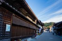 岐阜県 岩村の古い町並み