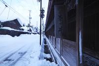 青森県 中町こみせ通りの冬