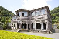 鹿児島県 洋風建築の旧鹿児島紡績所技師館