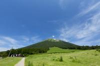 鳥取県 桝水高原から眺める大山