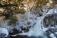 栃木県 朝の竜頭滝
