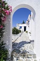 ギリシャ パロス島 家の入り口