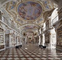 オーストリア アドモント修道院図書館