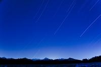 長野県 流れる星