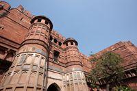 アーグラ城 門塔 アグラ インド