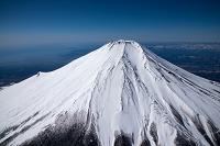 山梨県 富士山(高度3,500mより撮影)