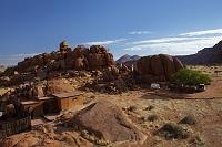 ナミビア キャンプ場