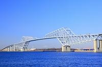 東京都 東京港とゲートブリッジ