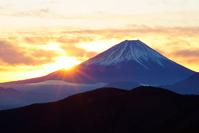 山梨県 富士山とご来光