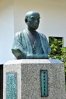 岡山県 津山洋学資料館 宇田川玄真の胸像