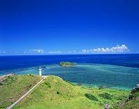 沖縄県・石垣島 平久保灯台と平久保崎からの眺め