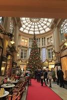 ドイツ ライプツィヒのクリスマス メドラーパサージュ ゲーテ...