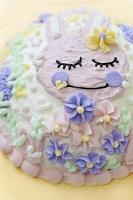 うさぎのデコレーションケーキ