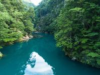 寸又峡 渓谷 8月 静岡県