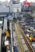 渋谷駅再開発 銀座線工事