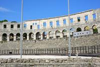 クロアチア プーラ 円形劇場