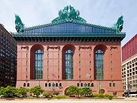 アメリカ イリノイ州  ハロルド・ワシントン図書館