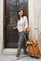 日本人女性の海外旅行イメージ