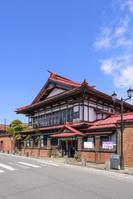 青森県 太宰治記念館 斜陽館