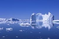 デンマーク イルリサット氷河