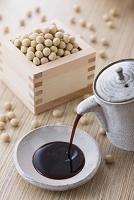 醤油と大豆(調味料)