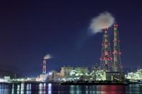岡山県 倉敷の工場夜景