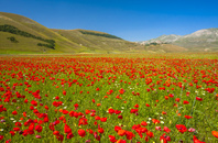 イタリア ウンブリア シビッリーニ山脈国立公園