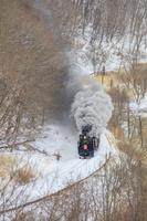 北海道 釧網本線 SL冬の湿原号 塘路駅~茅沼駅