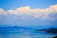 香川県 瀬戸内海の島並み