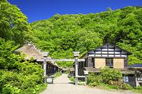 秋田県 乳頭温泉郷の鶴の湯温泉