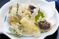 アナゴと野菜の天ぷら