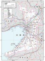 大阪府 交通図
